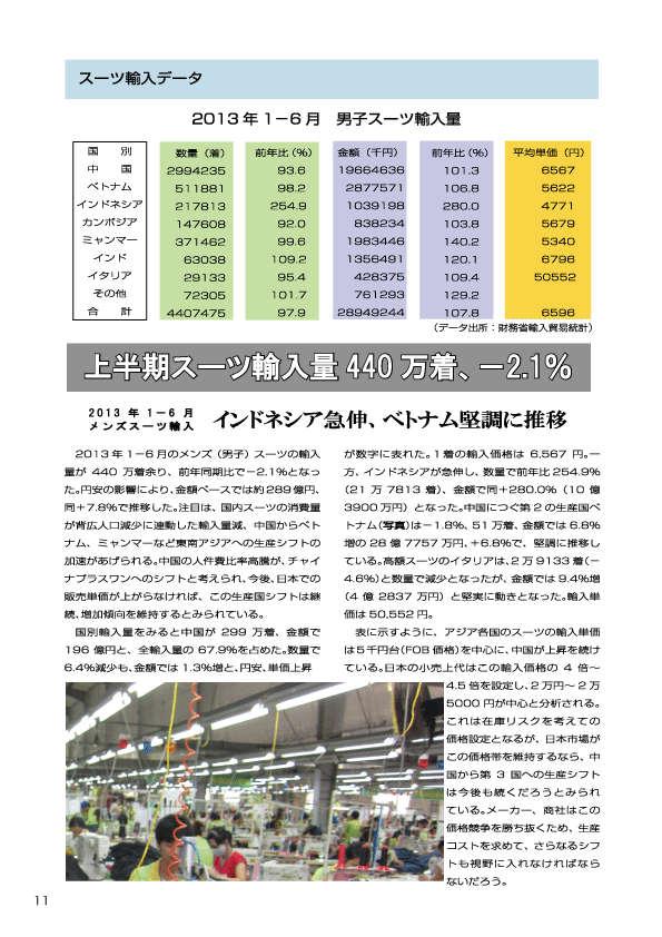 2013_1-6月スーツ輸入データ
